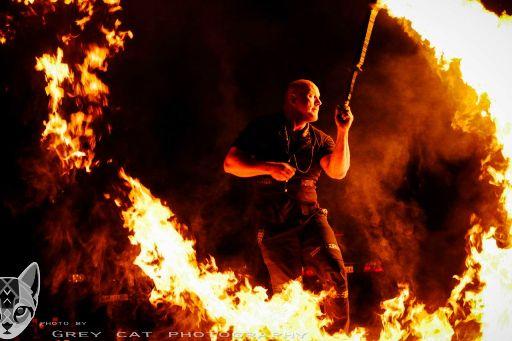 Feuershow Neubrandenburg