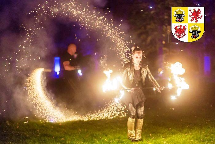 Feuershow in Mecklenburg-Vorpommern